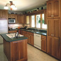 picture of kitchen boise professional maid service company